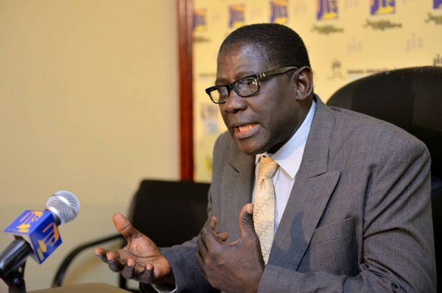 Executive Director of the Jamaica Productivity Centre (JPC), Dr. Charles Douglas.